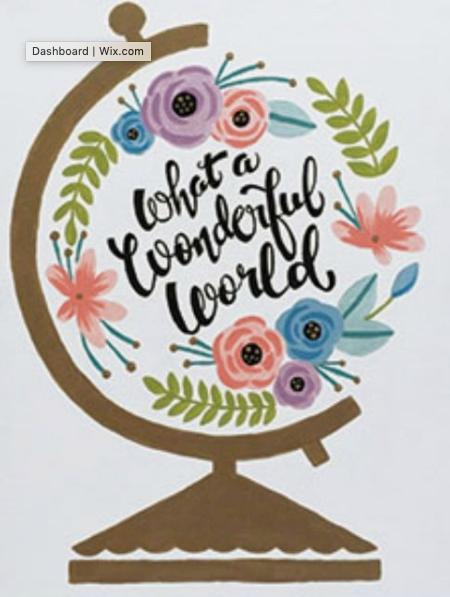 16x20 Wonderful World Kit