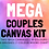 Thumbnail: MEGA Couples Canvas Kit