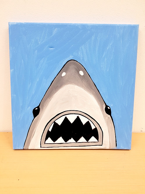 12x12 Shark Canvas Kit