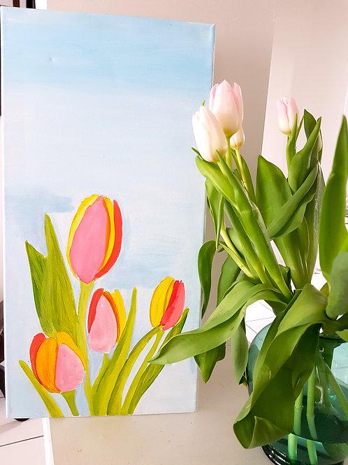 Spring Tulip Kit (10x20)