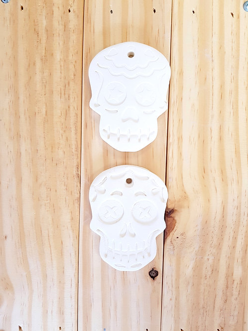 Mystery Sugar Skull Ornament Pack