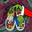 Thumbnail: *CHARITY HOLIDAY RAFFLE* Custom Grinch Vans Slip-on