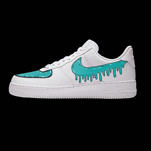 "Custom Nike Air Force 1 Low ""Toon Drippy"""