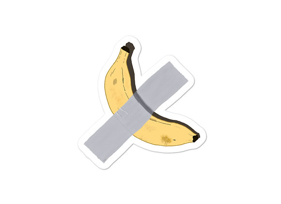 120K Duct Tape Banana Sticker