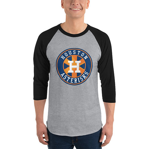 Houston Asterisks Baseball Tee