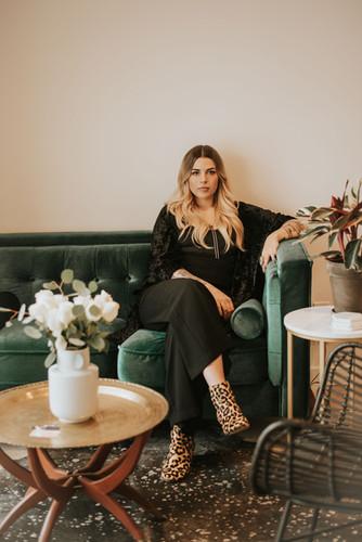 Lyndsey, Lead Artist & Owner of Studio Vetiver