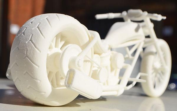 3D Printed Chopper by Luma3Dprint & 3DprintUK.