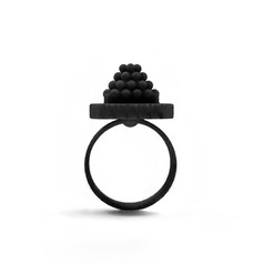 3D Printed Conceptual Jewellery by Ariadne Kapelioti | Fully designed in-house, Superlora jewellery is an innovative approach to contemporary design intended to be an extension of it's wearer. The chunky jewellery pieces all have a sophisticated and vibrant twist and are created with attention to detail, precision, experimentation, completed using advanced digital technology and flawless craftsmanship. Each collection is produced in a small series and inspired by a scientific theme such as Astronomy. The delicate designs feature geometric forms and patterns while highly influenced by the first costume jewellery era, the fabulous Fifties. Moreover, Ariadne creates in a conscious way; not only is she following a no leather, no fur policy and strict waste management codes at the studio, but she is also designing jewellery that don't follow the trends, only attempt to fit the zeitgeist of the era.