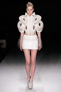 """Printed Perfection"" by Iris van Herpen, 2010."