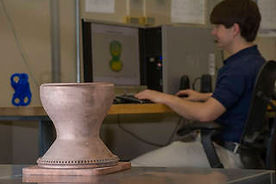 3D Printed Full-Scale Copper Engine Part by NASA, 2015.