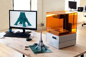 SLA Desktop 3D Printer by Formlabs, 2015.
