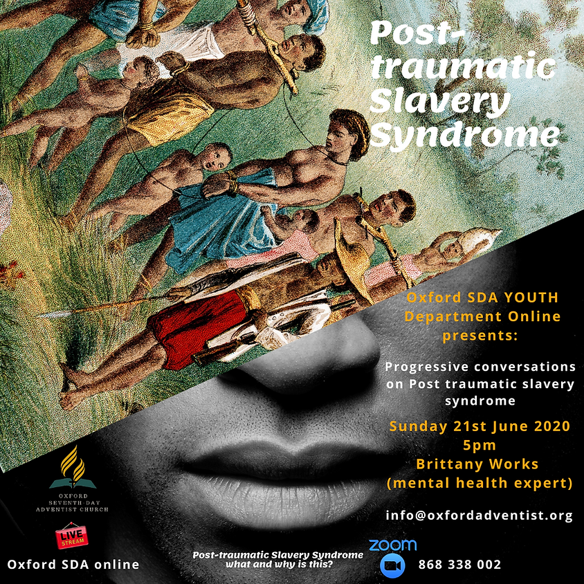 Post- traumatic Slavery Syndrome