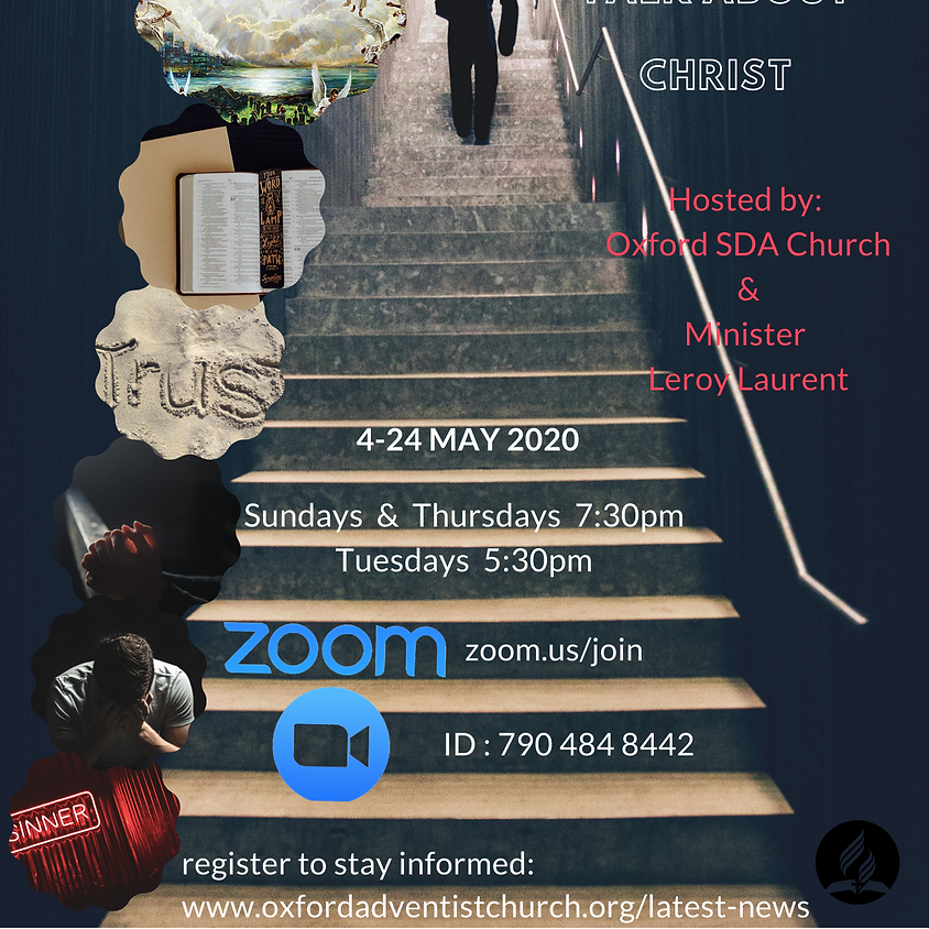 Teens Prayer conference- Steps to Christ