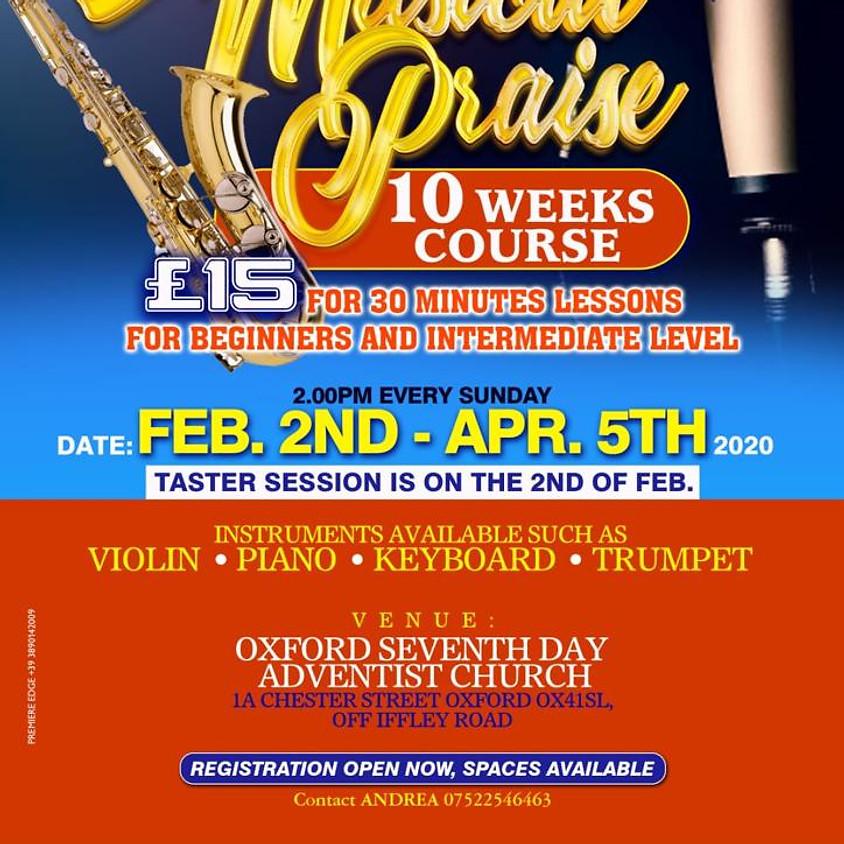 Praise 10 week course