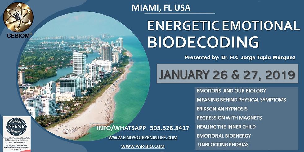 Biodescodificacion Emocional con Biomagnetismo