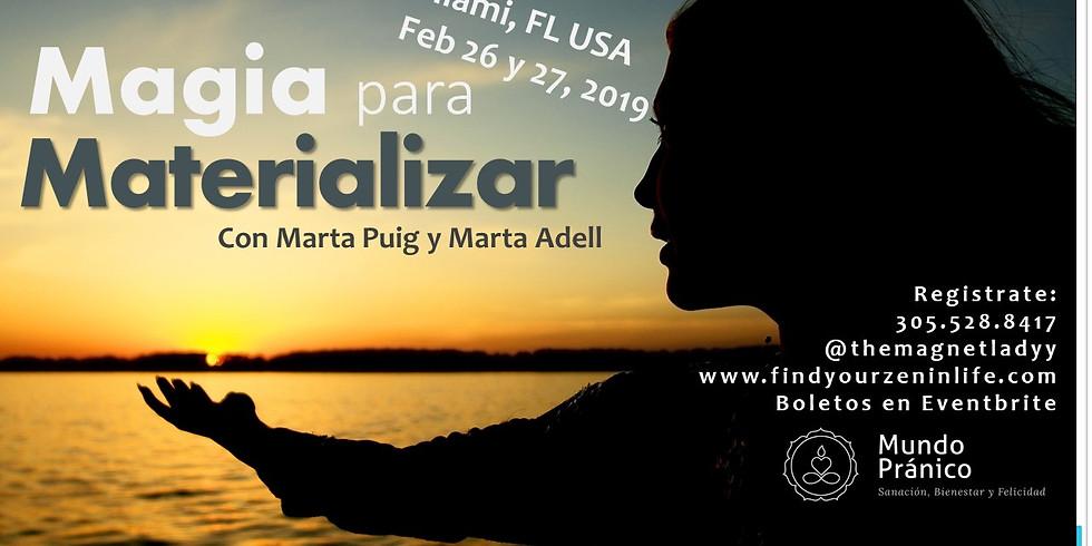 Magia para Materializar con Marta Puig y Marta Adell