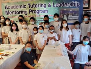 2021년 여름 방학 영어 수학 과외와 청소년지도력 향상을 위한 멘토링과 그룹 활동 프로그램을 진행
