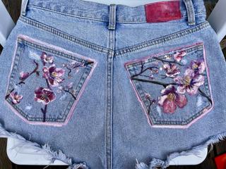 Cherry Blossom Shorts