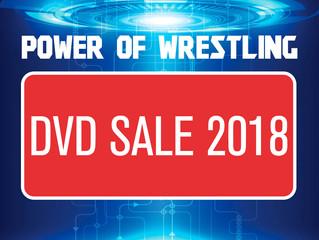 DVD Sale 2018