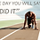 Thumbnail: one day you will say