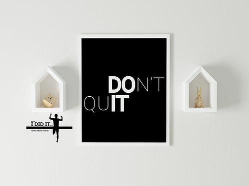 do it - שחור
