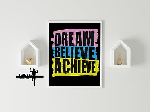 copy of dream believe achieve
