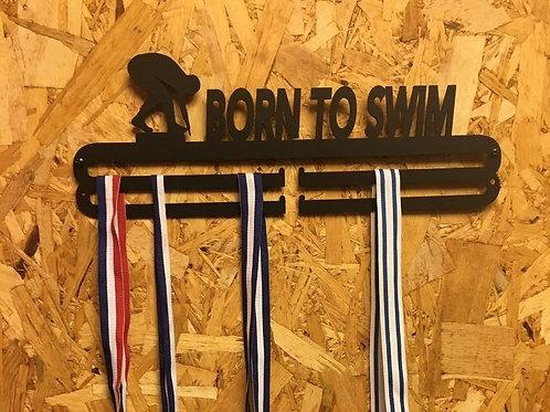 מתלה מדליות - BORN TO SWIM