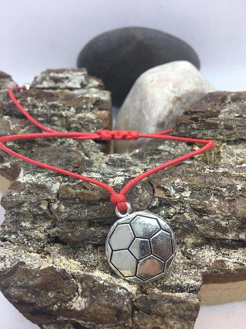 כדורגל - צמיד אדום