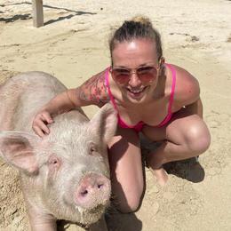 Swimming Pigs, Nassau Bahamas