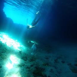 Thunderball Grotto, Exuma Bahamas