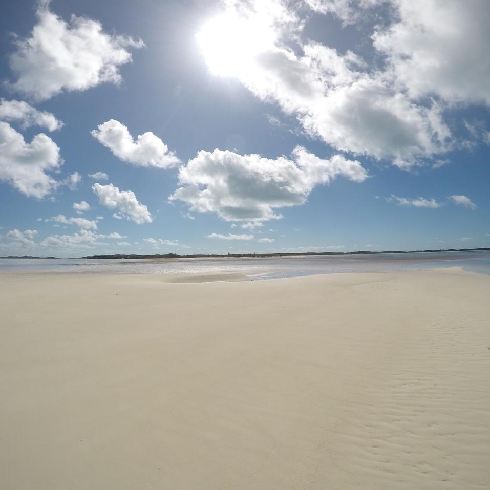 Pipe Cay Sandbars, Exuma, Bahamas