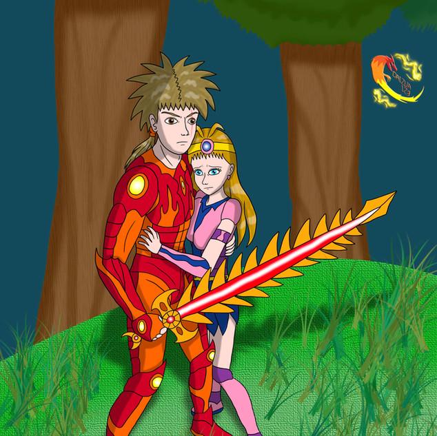 A Knight and his Princess