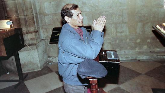 Charles Sobhraj 1997 in Paris Notre-Dame