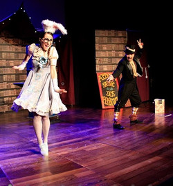 Spectacle magie burlesque