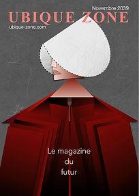 Dessin numérique en hommage à la série TV La Servante Ecarlate