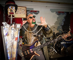 Jon Pitre cirque rock bass & synth
