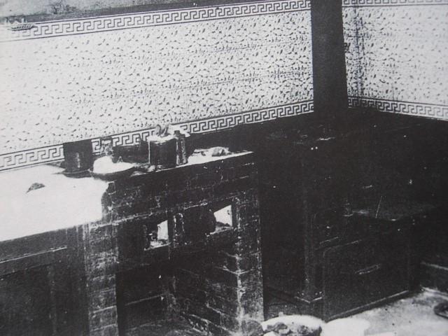 Kamna, kde Landru spaloval části těl svý