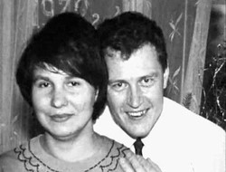 Anatoly Slivko s manželkou