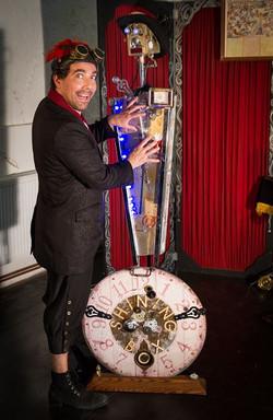 Magie robot cirque rock