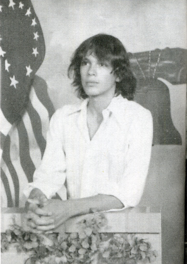 richard Ramirez in high-school