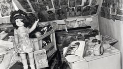 Obývák a věci Fritze Honky