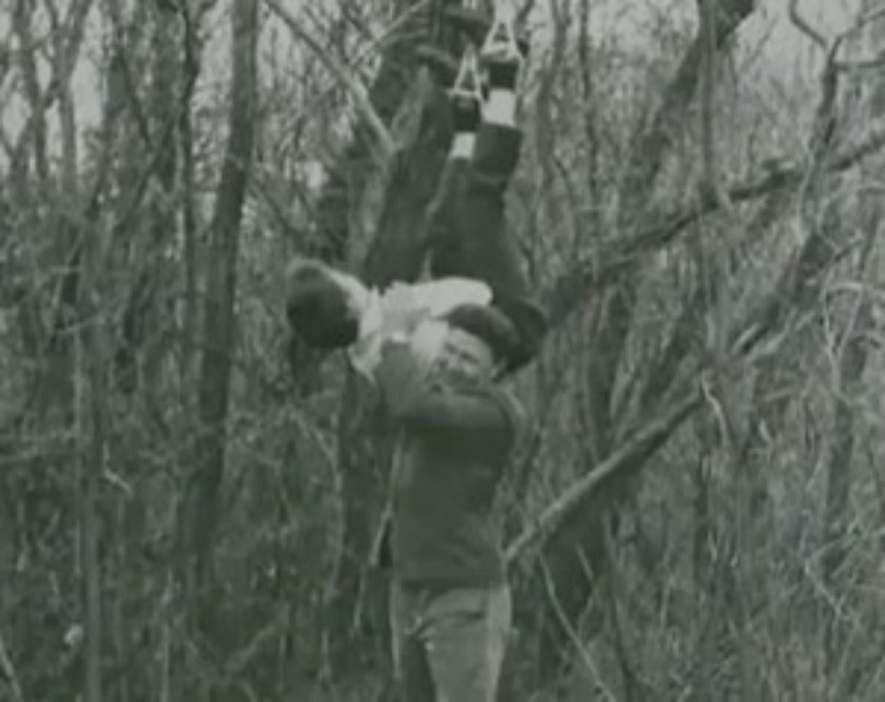 Anatoly Slivko s jednou z obětí