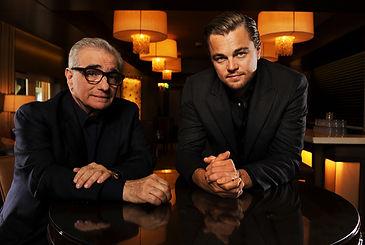 Leonardo DiCaprio and Martin Scorcesse.j