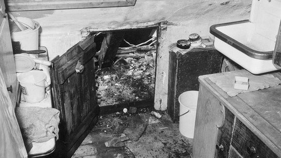 Úložný prostor, kde Honka ukrýval mrtvol