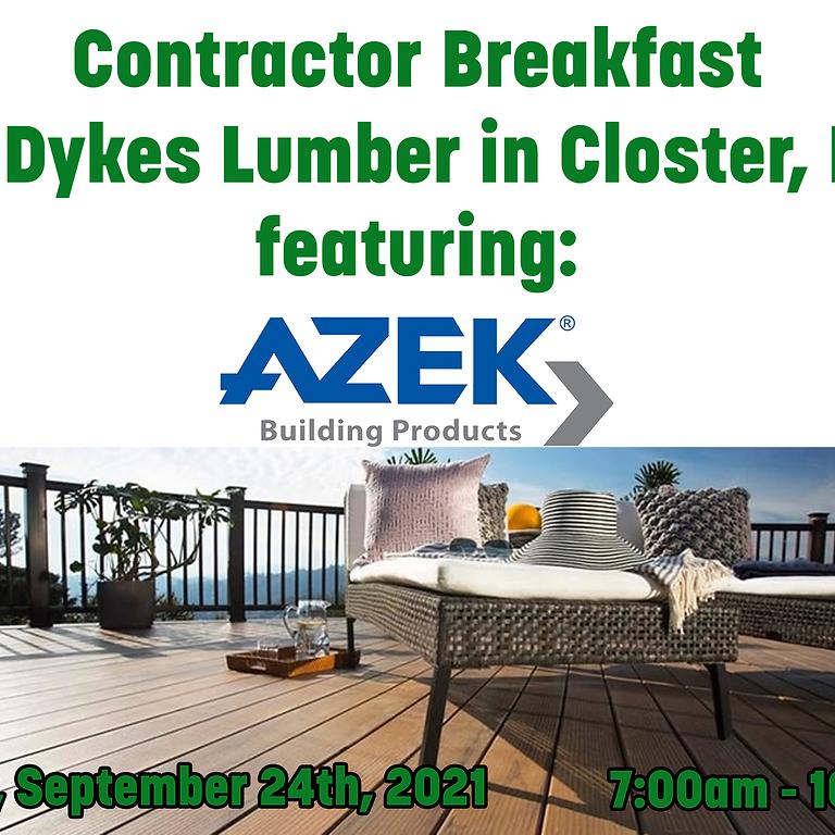 Contractor Breakfast in Closter, NJ