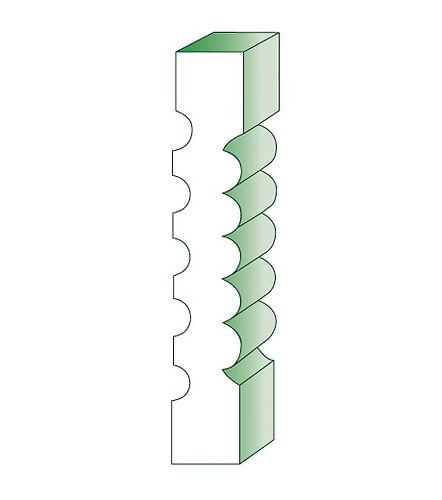345 Pilaster