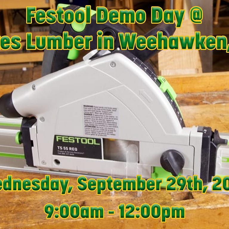 Festool Demo Day in Weehawken, NJ