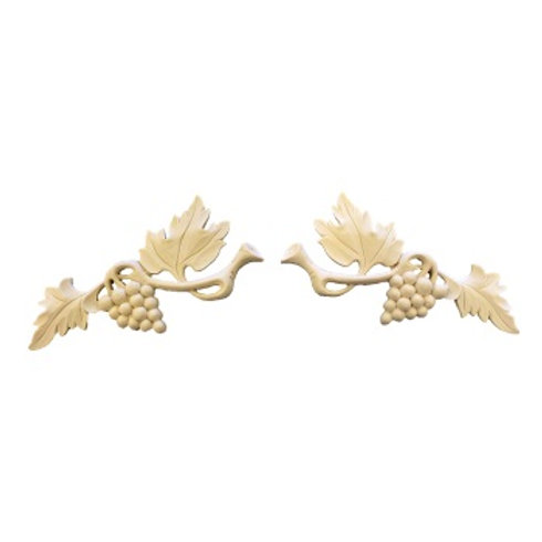 7″ X 2-1/2″ SMALL GRAPE LEAF BRACKET (not sold as a set)
