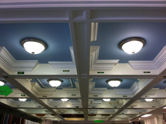 Aberdeen Coffered Ceiling Moulding Displ