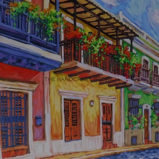 Calle San Justo y Norzagaray